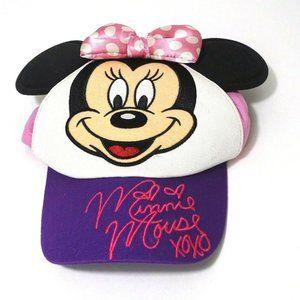 Disney Parks Minnie Mouse Baseball Cap Infant Girl